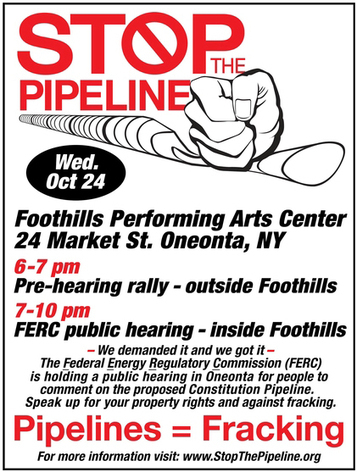 Pipelines = Fracking: Stop the Constitution Pipeline   EcoWatch   Scoop.it