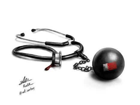 Solidarity with the imprisoned Bahraini Medics.... | Human Rights and the Will to be free | Scoop.it