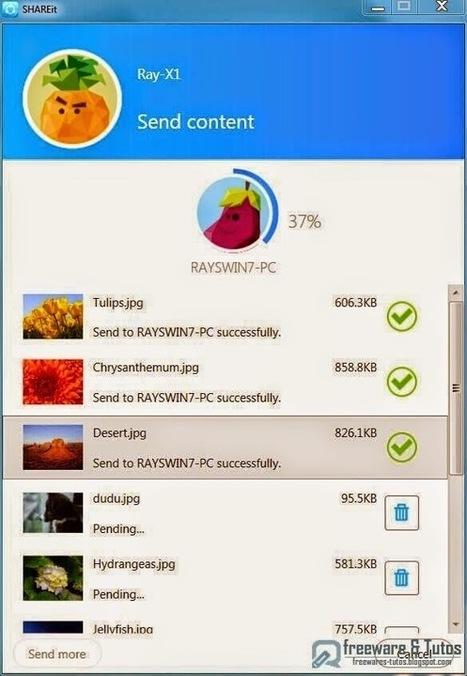 Des outils pratiques pour partager des fichiers entre ordinateurs, tablette, smartphone   Bonnes pratiques en documentation   Scoop.it