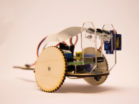 TiddlyBot fun and simple Raspberry Pi Robot | Raspberry Pi | Scoop.it