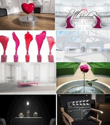 Wonderland, Lancôme s'expose en 3D   Shopping expérience   Scoop.it