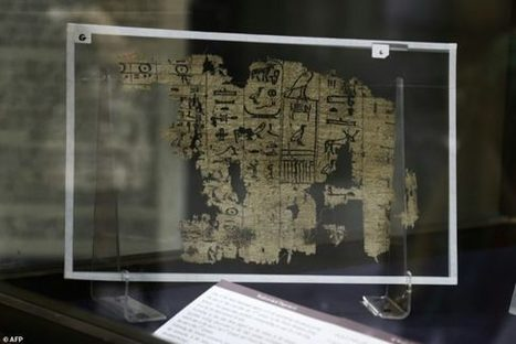 Egypt's Oldest Papyrus Reveals Lives of Pyramid Builders | Mysterious Universe | Love | Scoop.it