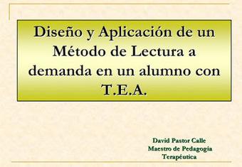 Método de lectura a demanda con alumnado con TEA | CPR Gijón Oriente Eduación Inclusiva | Scoop.it