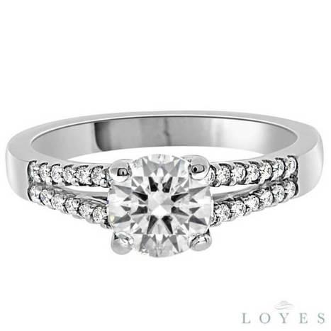 Olivia Engagement Ring - Loyes Diamonds dublin diamond center stone | Engagement rings Dublin Blog. | Scoop.it
