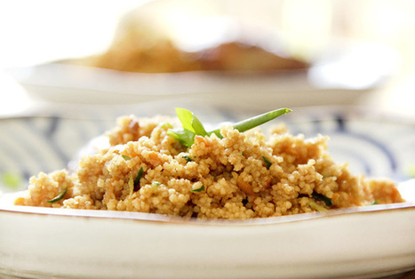 Cuscuz marroquino com frango oriental | DigaMaria | Receitas da Lia | Scoop.it