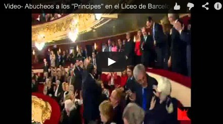 Boo to the princes of Spain at the Liceu in Barcelona | AC Affairs | Scoop.it