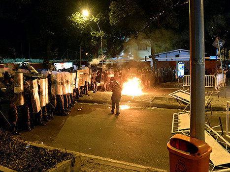 El Papa en Brasil: policía dispersó manifestantes con gases lacrimógenos | N.O.W (Signs of the Times) | Scoop.it