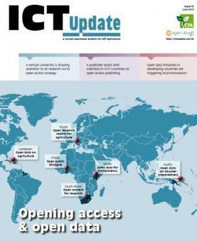 ICT Update Issue no. 72: Open access & open data | e-Agriculture | Emerging Social Media Tools | Scoop.it