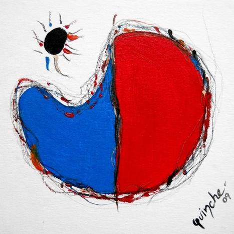 """Black Sun"" by Patricia Quinche | Abstract and Figurative Art  by Patricia Quinche | Scoop.it"