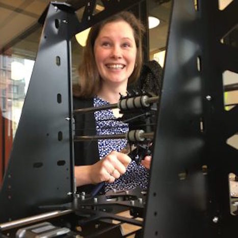 """Lyndsey Lewis – """"3d Printing Will Be Able to Mature in Places Where Production Infrastructure Is Broken"""" 