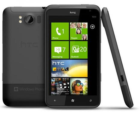 HTC Titan, un Windows Phone 7 à grand écran, et son petit frère ... - Pockett.net | Smartphones&tablette infos | Scoop.it