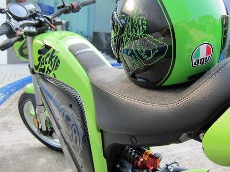 Jackie Chan's custom Brammo Enertia | Facebook | Brammo Electric Motorcycles | Scoop.it