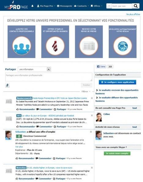 Professionnalisez votre utilisation de Facebook avec MyProPage   Locita.com – L'info à partager   Marketing ou Marketing 2.0   Scoop.it