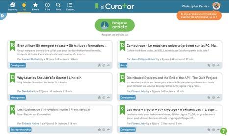 OCTO talks ! » OCTO lance elCurator, la nouvelle solution gratuite pour partager du contenu en entreprise | Veille, outil d'ie | Scoop.it