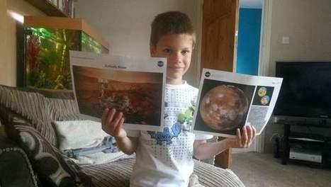 La NASA répond à un gamin de 7 ans qui rêve d'être astronaute - 7sur7   Mars   Scoop.it