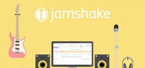 Jamshake : l'application pour faire de la musique à distance - TheWebTape   MusicGeek   Scoop.it