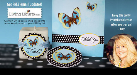 HUGE List of Free Printables & Downloads   Living Locurto ~ A DIY Craft and Party Lifestyle Blog   freeprintables   Scoop.it