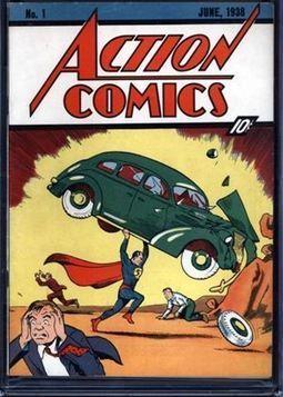 Encuentra en las paredes de su casa un ejemplar del primer número de Superman | escuela | Scoop.it