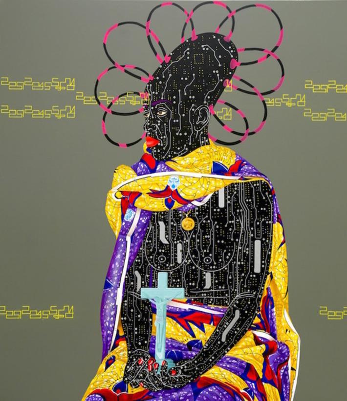 Culture clash: Congolese artist Eddy Kamuanga Ilunga at the October Gallery | Art Radar | Kiosque du monde : Afrique | Scoop.it