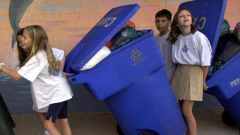 Residents to receive new, 96-gallon recycling bins | The New Black Gold... | Scoop.it