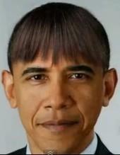 Barack Obama se fait la frange de Michelle Obama - Elle | Scoopdakar | Scoop.it