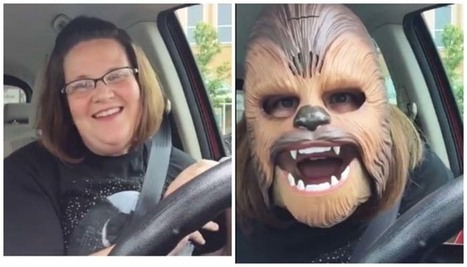 You've Never Loved Anything As Much As This Mom Loves Her Chewbacca Mask | Soup for thought | Scoop.it