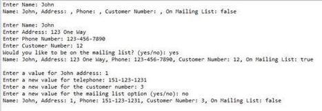 Java - Person, Customer | Programming Homework Help | Scoop.it
