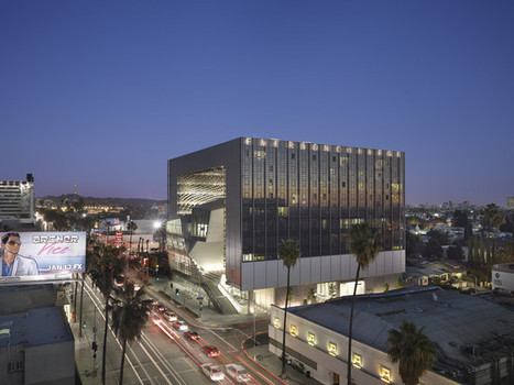 Morphosis's Emerson College Los Angeles Building set to open in March | The Architecture of the City | Scoop.it