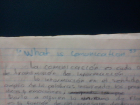 "/""What is comunication"" 