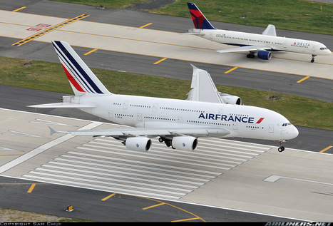 Airbus A380-861 Air France F-HPJE | Aviation & Airliners | Scoop.it