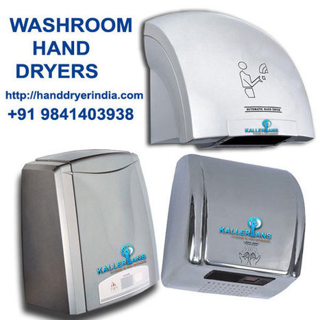 Washroom Hand Dryers | Hand Dryers Chennai | Free QR CODE Generator | Scoop.it