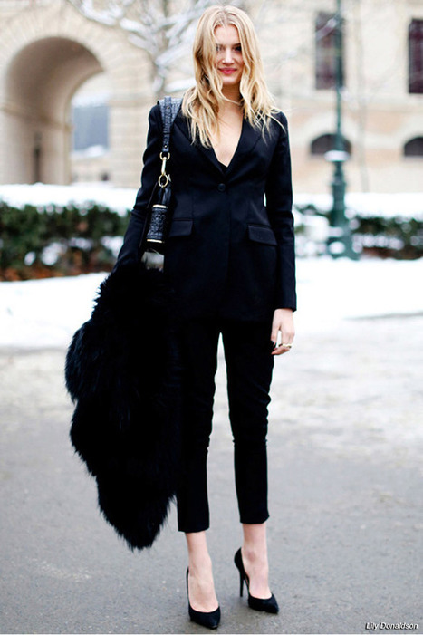 Updating the Classic Black Blazer | Style Heart Diva Blog | Latest Fashion Trends Women | Scoop.it
