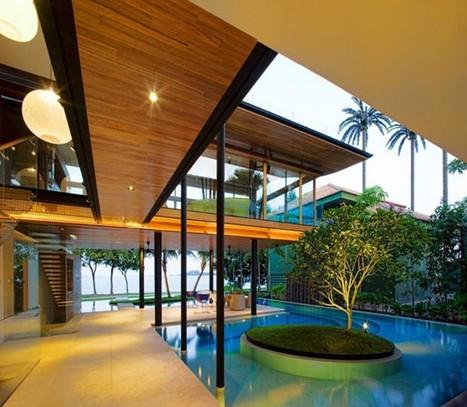 Modern Contemporary Beach House | Home Design | Scoop.it