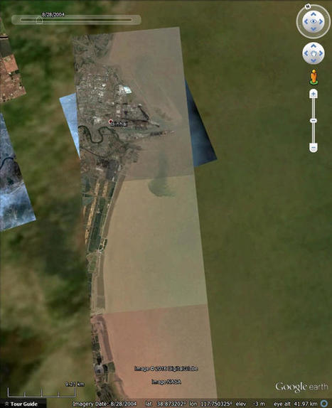 Watching land reclamation with Google Earth | Lorraine's Landscapes and Landforms | Scoop.it