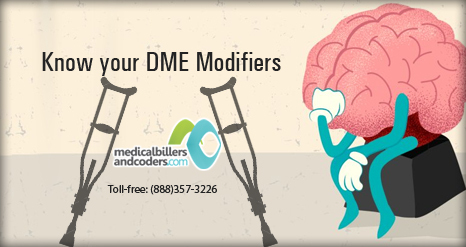 Know your DME Modifiers | Medical Billing Services | Scoop.it