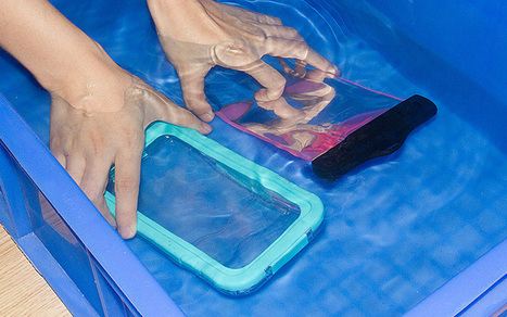 Three Methods to Test if it's Qualified Waterproof Case   All about smartphone   Scoop.it
