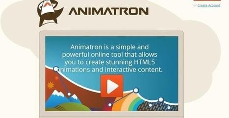 Animatron, herramienta web para crear fácilmente animaciones HTML5 | web tools | Scoop.it