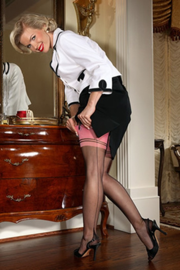 Banbury French Heel Fully Fashioned Stocking | Lingerie Love | Scoop.it