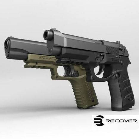 ReCover Tactical BC2 tactical grip and rail system for Beretta 92 type pistols - Accessories - all4shooters.com | all4shooters EN | Scoop.it