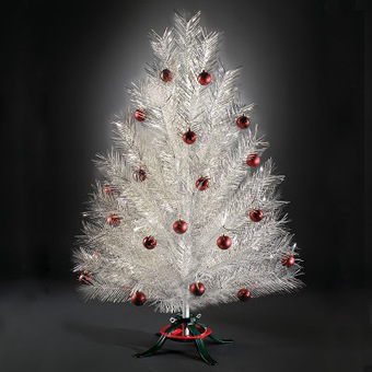 1960'S ALUMINUM CHRISTMAS TREES! | Fun Facts: Pre Lit Artificial Christmas Trees Walmart Has | Scoop.it