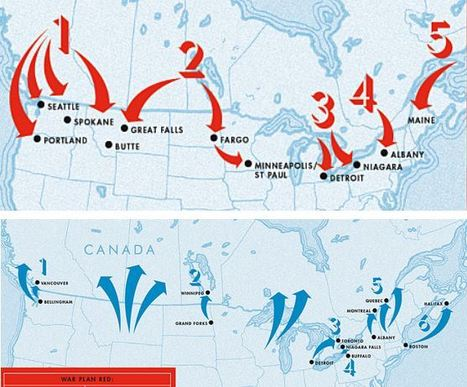 Canada's secret plan to invade the U.S. (and vice versa) | Human Geography is Everything! | Scoop.it