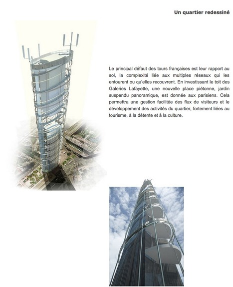 Une NOUVELLE façade pour la tour Montparnasse ? - Projets | The Architecture of the City | Scoop.it