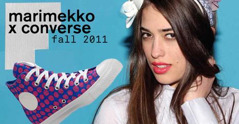 FIRST LOOK: CONVERSE x MARIMEKKO - NYLON MAGAZINE | Finland | Scoop.it