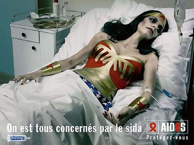 35 Affiches et campagnes de pub contre le SIDA   Le Journal Graphic   freehand illustration and graphic design   Scoop.it