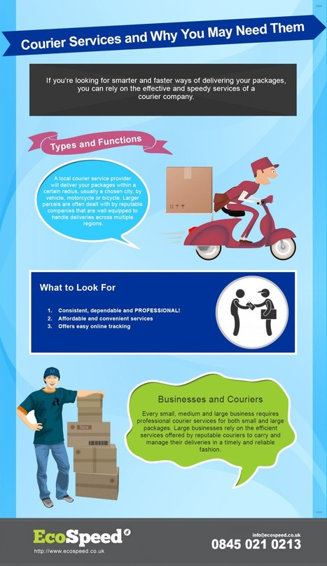 Courier Services and Why You May Need Them | Courier Services | Scoop.it