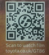 QR code best practice from Toyota | Online Marketing with Tech | Scoop.it