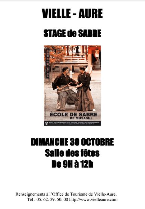 Stage de sabre à Vielle-Aure le 30 octobre | Vallée d'Aure - Pyrénées | Scoop.it