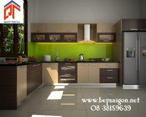 bepsaigon.net - Tủ bếp cao cấp nhà chị QUẾ - Ngân hàng SACOMBANK TB283 - | Tủ bếp Acrylic - MFC | Scoop.it