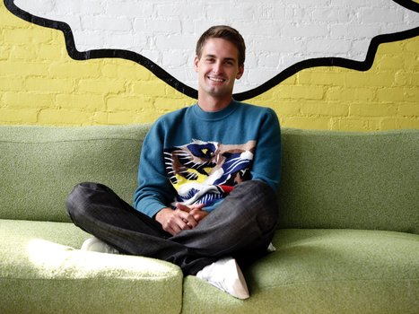 Snapchat's billionaire 25-year-old CEO explains why the app is so hot | Stratégie Digitale et entreprises | Scoop.it