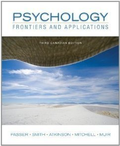 Testbank for Psychology Frontiers and Applications 3rd Canadian Edition by Passer ISBN 0070985928 9780070985926 | Test Bank Online | nhg | Scoop.it